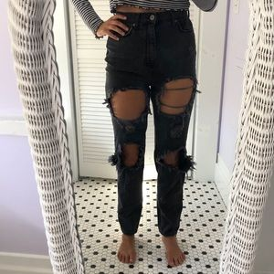 Urban Outfitter High Rose Jeans